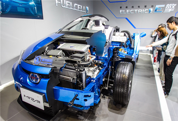Shanghai to accelerate development of fuel cell vehicle industry chain