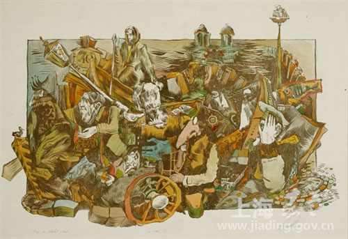 Jiading showcases Russian woodcuts