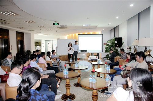 Jiading auto industry hosts English salon