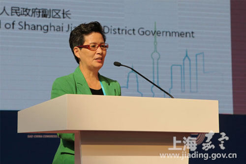 Jiading hosts SAE-China congress and exhibition