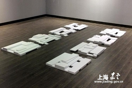 Japanese artist opens exhibition in Jiading