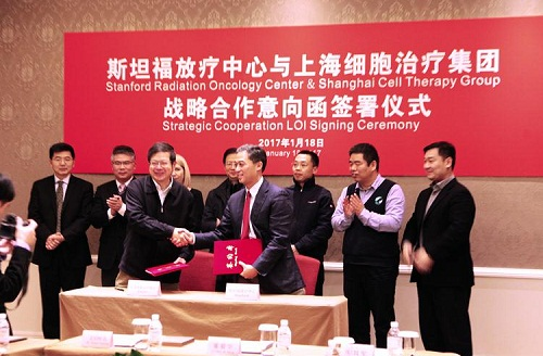 Shanghai and Stanford oncology centers join forces