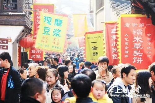Jiading attractions see numerous tourists during Spring Festival