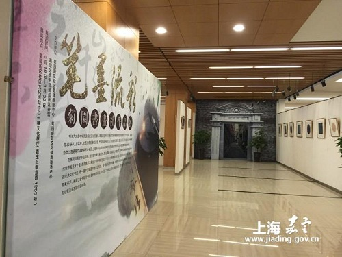 Hard-pen calligraphy on show in Jiading exhibition