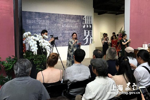 B&R-themed art exhibition opens in Jiading