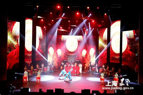 Culture and art festival opens in Jiading Industrial Zone