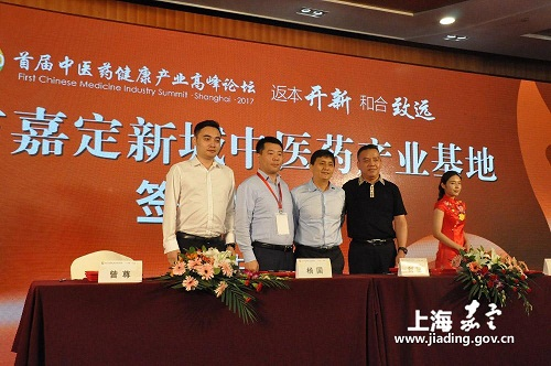 Jiading New City holds Chinese medicine-focused summit