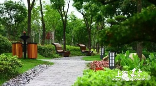Ideal places to run in Jiading