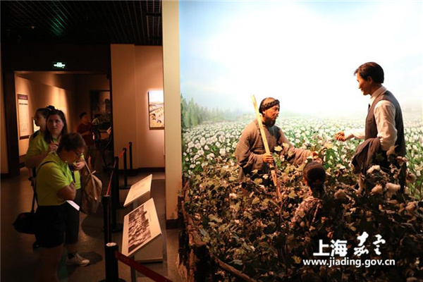 Overseas visitors experience authentic Jiading