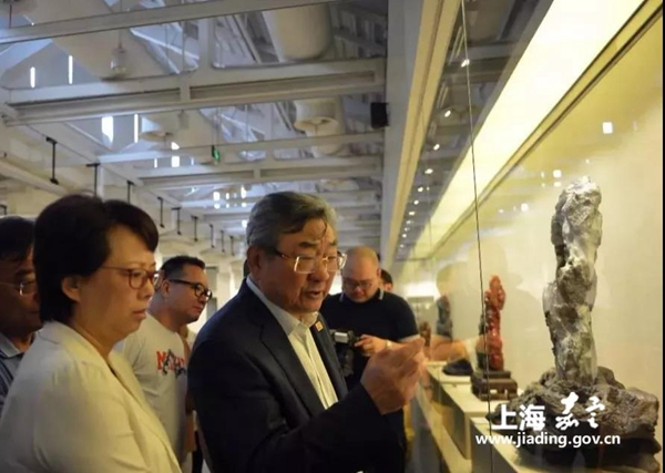 Exhibition highlights Shoushan stone carving art in Jiading