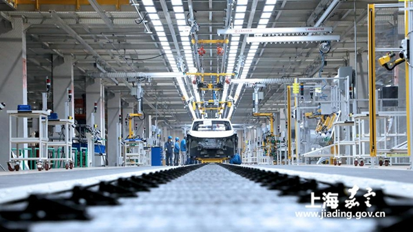 SAIC Volkswagen's new MEB factory finishes construction in Jiading